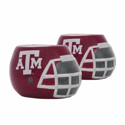 Texas A&M Aggies Team Pride Mini Ceramic Helmet Planters Perspective: front