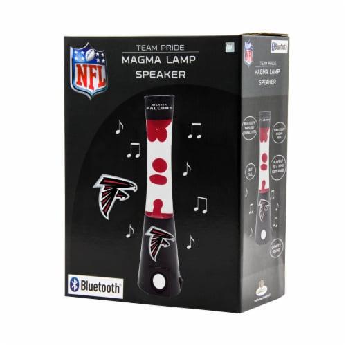 NFL Atlanta Falcons Team Pride Magma Lamp Speaker Perspective: front