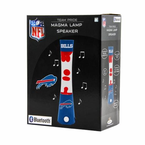 NFL Buffalo Bills Team Pride Magma Lamp Speaker Perspective: front