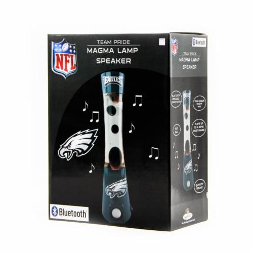 NFL Philadelphia Eagles Team Pride Magma Lamp Speaker Perspective: front