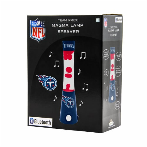 NFL Tennessee Titans Team Pride Magma Lamp Speaker Perspective: front