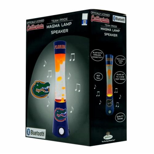 Florida Gators Team Pride Magma Lamp Speaker Perspective: front