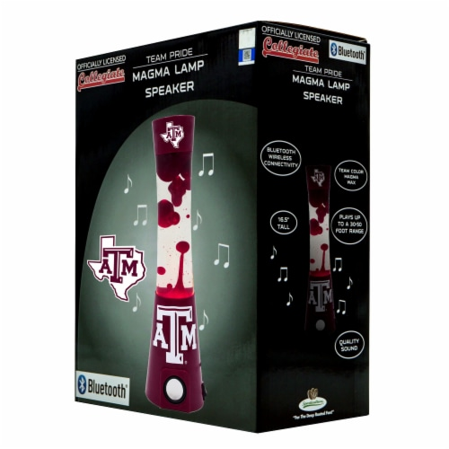 Texas A&M Aggies Team Pride Magma Lamp Speaker Perspective: front