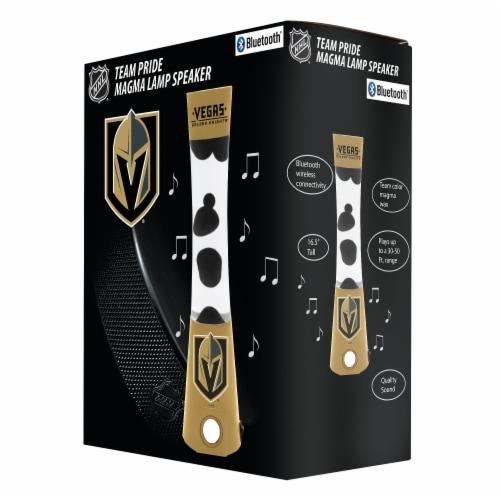 NHL Vegas Golden Knights Team Pride Magma Lamp Speaker Perspective: front