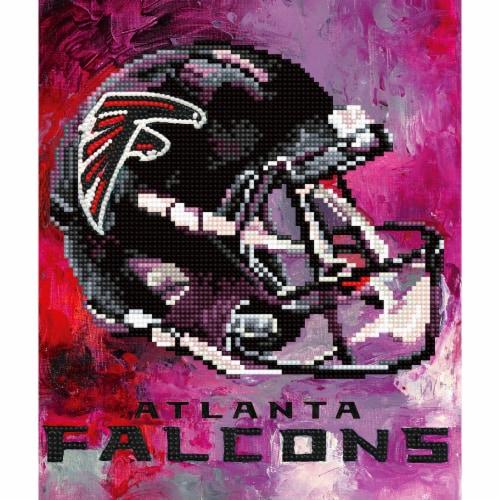 Atlanta Falcons NFL Team Pride Diamond Painting Craft Kit Perspective: front