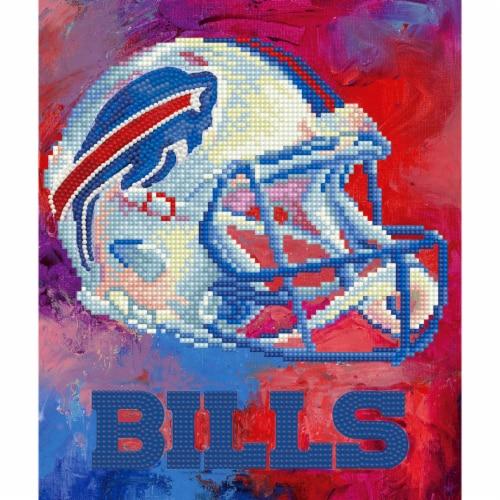 Buffalo Bills NFL Team Pride Diamond Painting Craft Kit Perspective: front