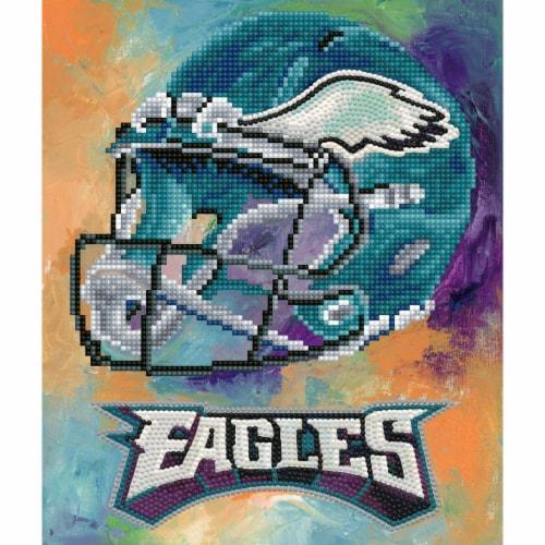 Philadelphia Eagles NFL Team Pride Diamond Painting Craft Kit Perspective: front