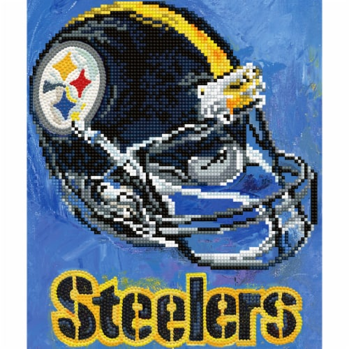 Pittsburgh Steelers NFL Team Pride Diamond Painting Craft Kit Perspective: front