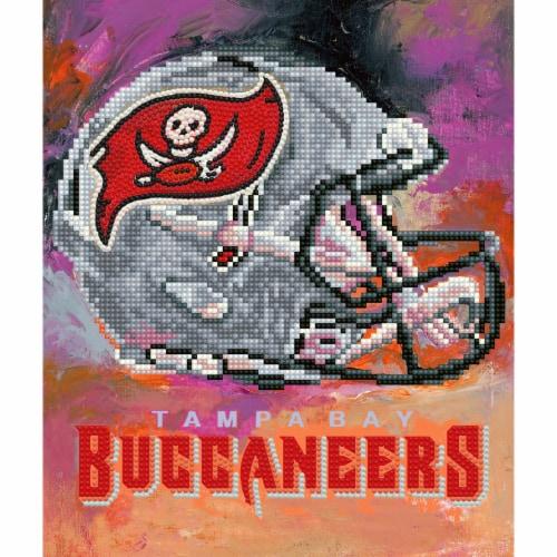 Tampa Bay Buccaneers NFL Team Pride Diamond Painting Craft Kit Perspective: front