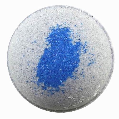 Cosset Let it Go Black Tourmaline Crystal Bath Bomb Perspective: front