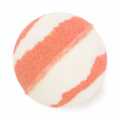 Cosset Hibiscus and Passion Fruit Bath Bomb Perspective: front