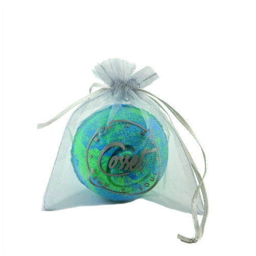 Cosset Down To Earth Sachet Bath Bomb Perspective: front