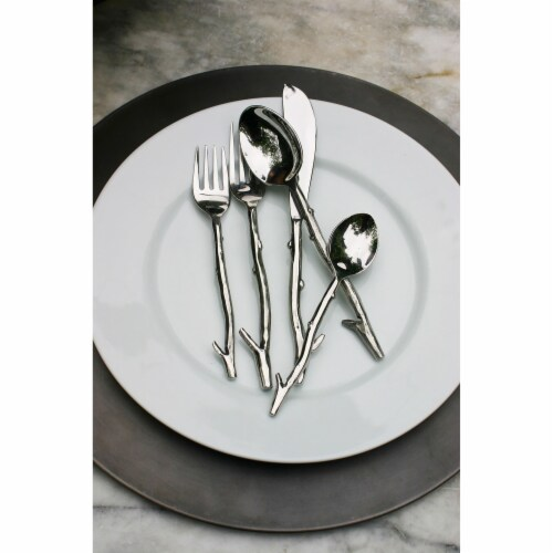 Vine Polished 5-piece Cutlery Set Perspective: front