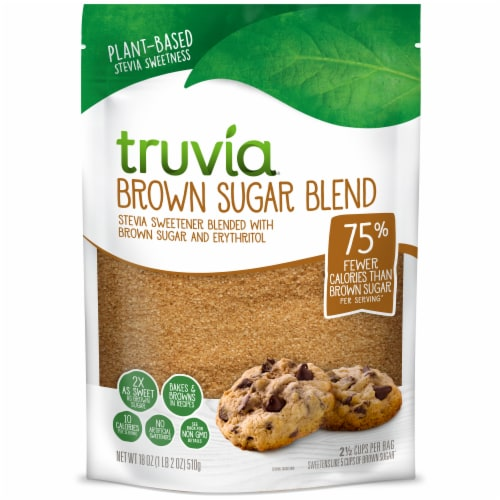 Truvia Brown Sugar Blend Perspective: front
