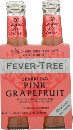 Fever-Tree Sparkling Pink Grapefruit Mixer Perspective: front
