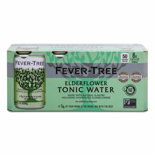 Fever-Tree Tonic Water - Elderflower Perspective: front