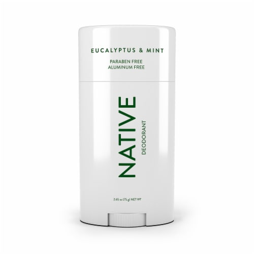 Native Eucalyptus & Mint Paraban & Aluminum Free Deodorant Perspective: front