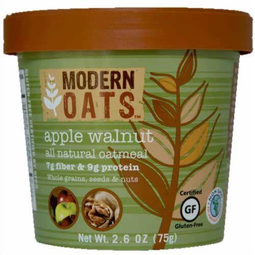Modern Oats Apple Walnut Oatmeal, 2.6 Ounce -- 6 per case. Perspective: front