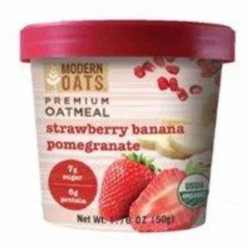 Modern Oats - Oatmeal Strwb Ban Pom - Case of 6 - 1.76 OZ Perspective: front
