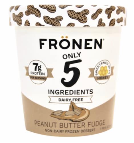 Fronen Dairy Free Peanut Butter Fudge Perspective: front