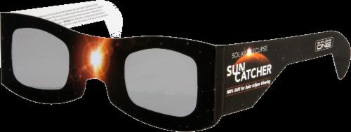 Explore One Solar Eclipse Sun Catcher Sunglasses Perspective: front