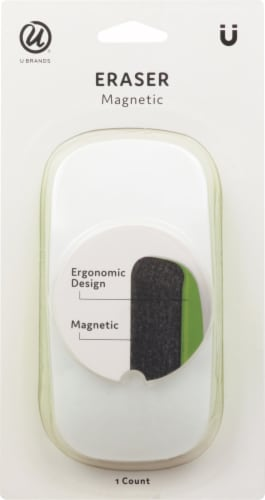 U Brands Magentic Board Eraser Perspective: front
