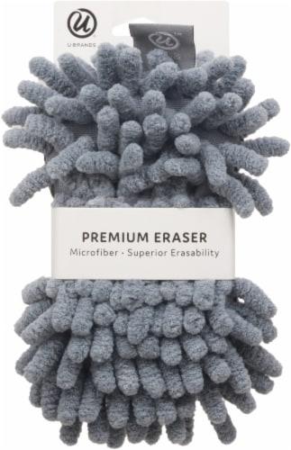U Brands Shag Dry Erase Board Eraser - Gray Perspective: front
