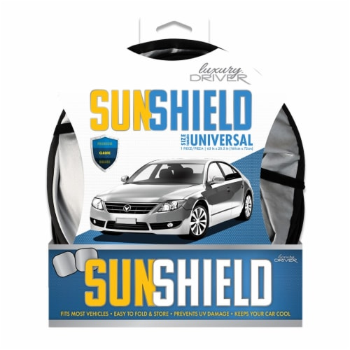 Luxury Driver Classic Sunshield Perspective: front