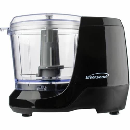 Brentwood Appliances MC-109BK 100 watt 1.5 lbs Cup Mini Food Chopper, Black Perspective: front