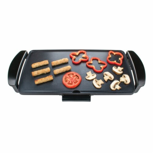 Brentwood TS819 9 x 18 in. Electric Griddle Non Stick Perspective: front
