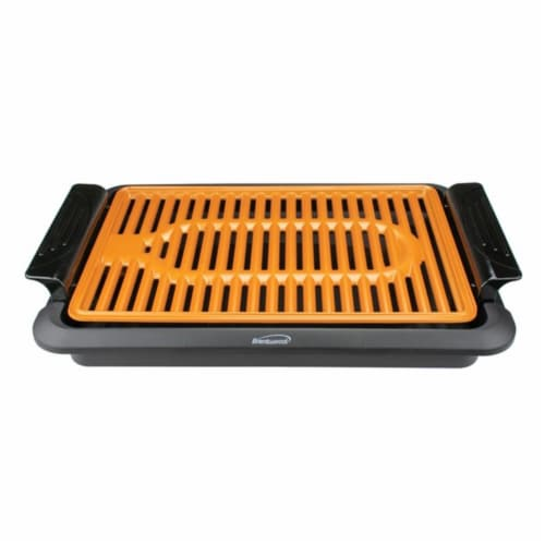 Brentwood Appliances TS-642 1000W Indoor Electric Copper Grill Perspective: front