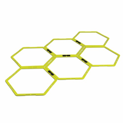 RBX Agility Hex Grid - Yellow/Black Perspective: front
