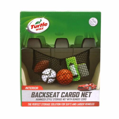 Turtle Wax Backseat Hammock-Style Cargo Net Perspective: front