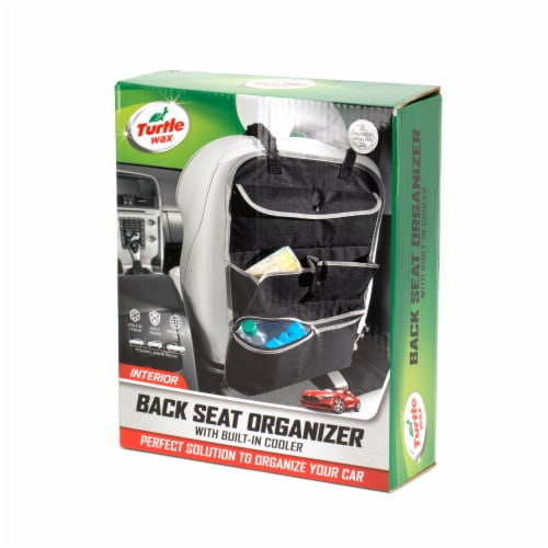 Turtle Wax Back Seat Organizer With Built-In Cooler Perspective: front