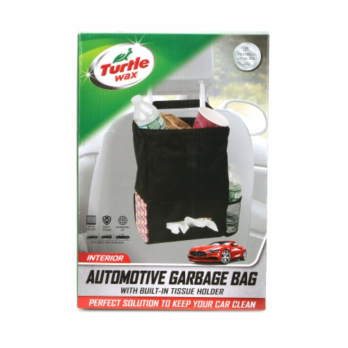 Turtle Wax Collapsible Car Waste Basket Perspective: front