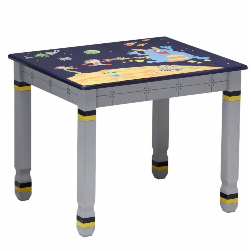 Fantasy Fields Childrens Kids Outer Space Wooden Table (no chairs) TD-12211A1 Perspective: front
