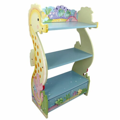 Fantasy Fields - Toy Furniture -Under The Sea Bookshelf W-7490A Perspective: front