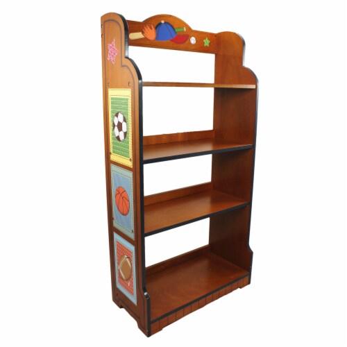 Fantasy Fields Kids Bookshelf Room Décor Kids Furniture Little Sports TD-0018A Perspective: front