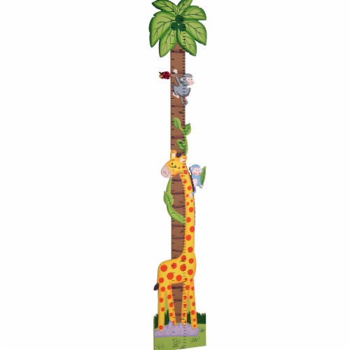 Fantasy Fields Kids Sunny Sarfari Kids Wooden Growth Height Chart Wall TD-0073A Perspective: front
