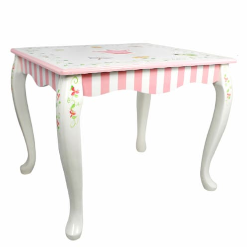 Fantasy Fields  Princess & Frog Kids Wooden Table (no chairs) W-7395A1 Perspective: front