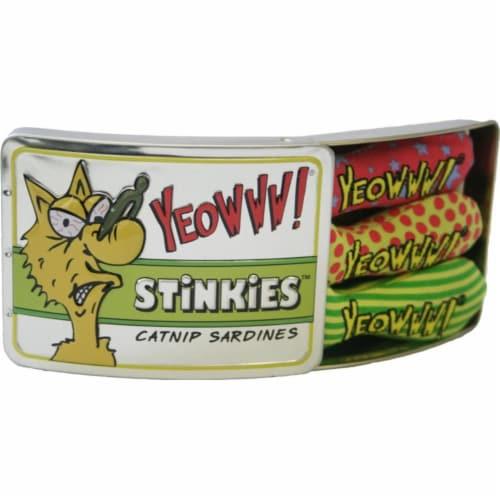 Duckyworld-Yeowww 812402000706 Stinkies Catnip Sardines Perspective: front