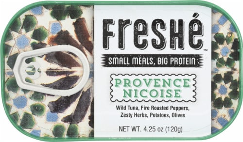 Freshe Gourmet Provence Nicoise Canned Tuna Perspective: front