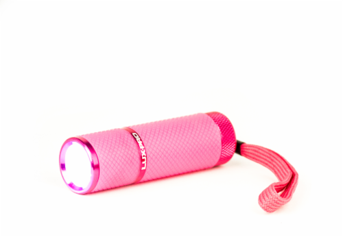 Lux-Pro® Gels Glow-in-the-Dark Flashlight - Pink Perspective: front