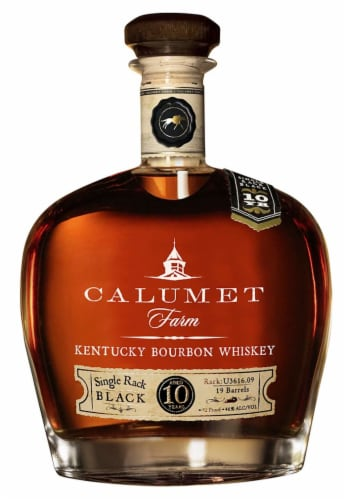 Calumet Farm Kentucky Bourbon Whiskey Perspective: front
