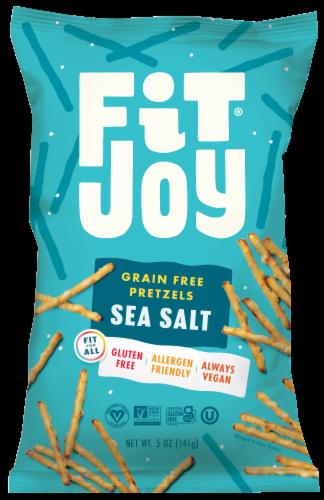 FitJoy Himalayan Sea Salt Grain Free Pretzel Sticks Perspective: front