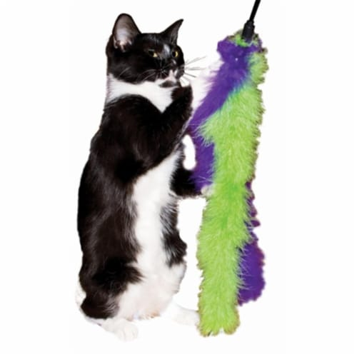 Imperial Cat 01059 20''L Marabou Wands for Pet Perspective: front