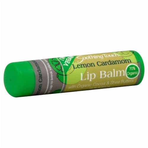 Soothing Touch Coconut Lime Lip Balm Perspective: front