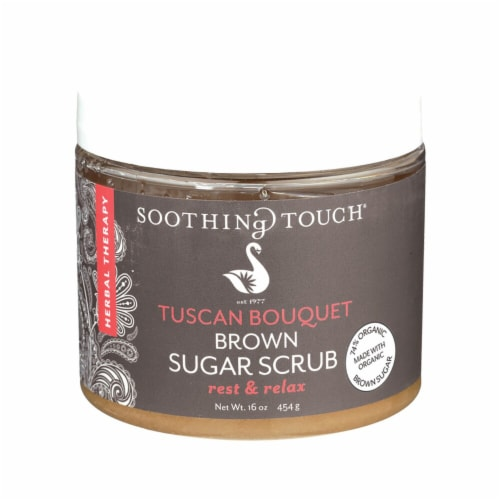 Soothing Touch Tuscan Bouquet Brown Sugar Scrub Perspective: front