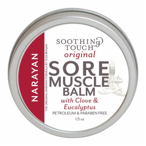 Soothing Touch Original Clove & Eucalyptus Sore Muscle Balm Perspective: front