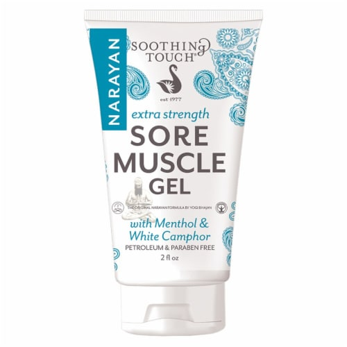 Soothing Touch Extra Strength Menthol & White Camphor Sore Muscle Gel Perspective: front